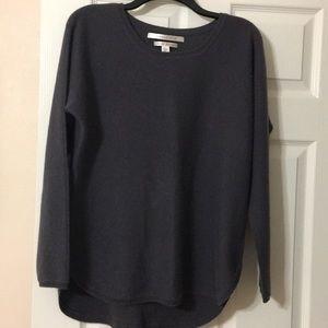 Max Studio grey/blue cashmere sweater